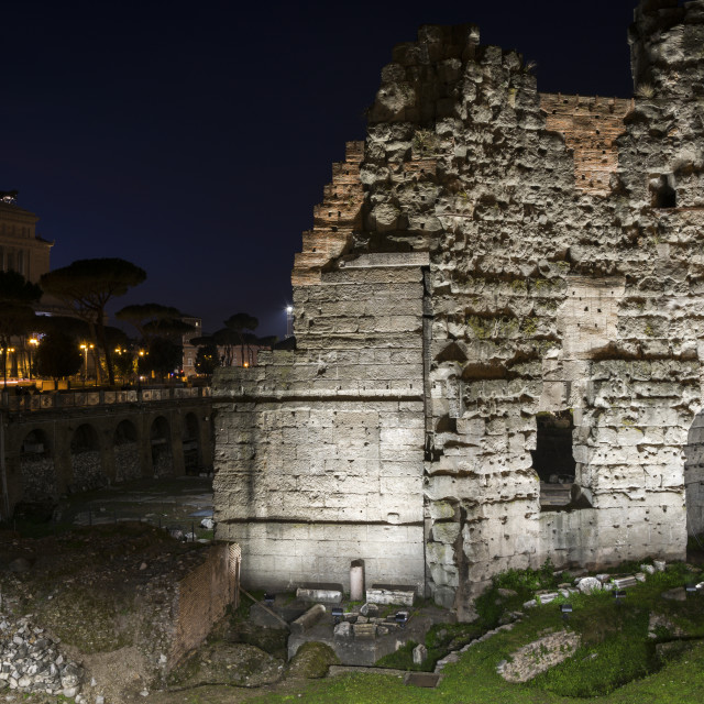"""Shadow of Foro Romano"" stock image"