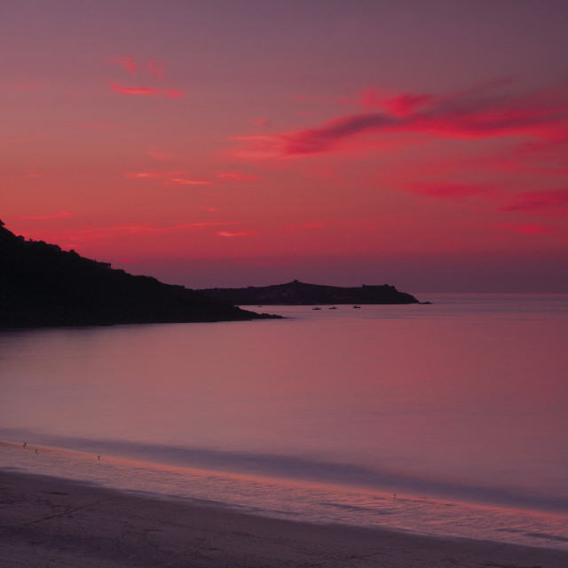 """""""St Ives Bay"""" stock image"""