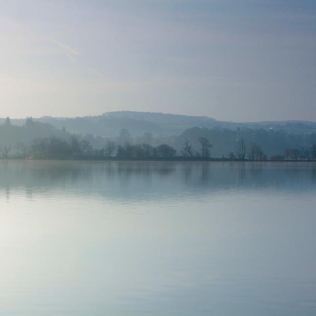 """Castle Semple Loch"" stock image"
