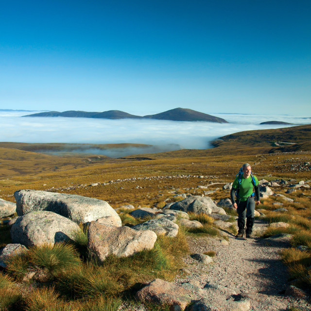 """""""Meall a Bhuachaille"""" stock image"""