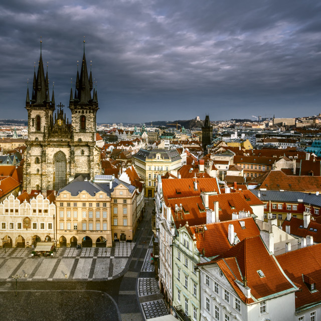 """Church of Our Lady before Tyn (Prague - Czech Republic)"" stock image"