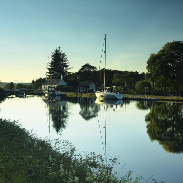 """Dunardry Locks"" stock image"