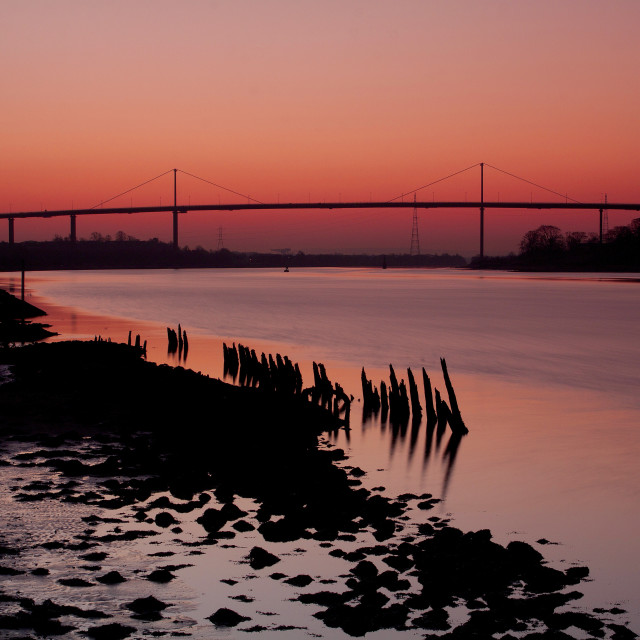 """Erskine Bridge"" stock image"