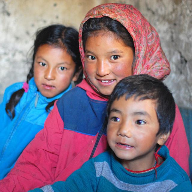 """""""Children of Hangkar"""" stock image"""