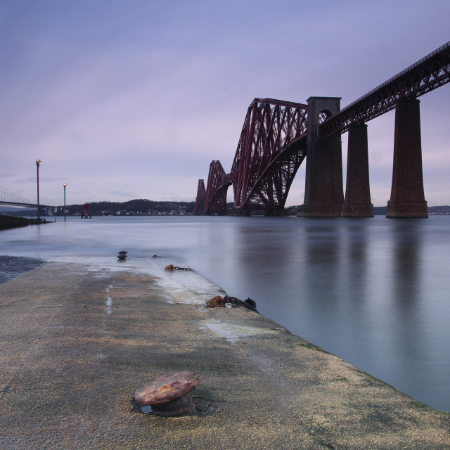"""Forth Railway Bridge"" stock image"