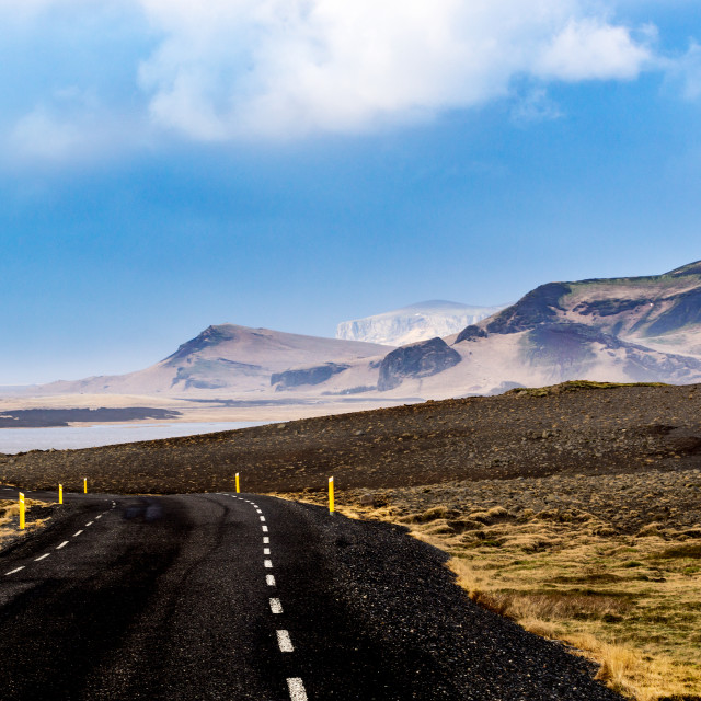 """Road in the hills"" stock image"