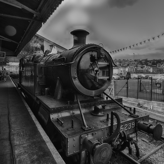 """Great Western Railway"" stock image"