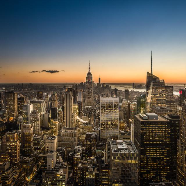 """New York"" stock image"