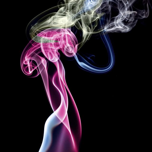 """Dancer's cigarette break."" stock image"