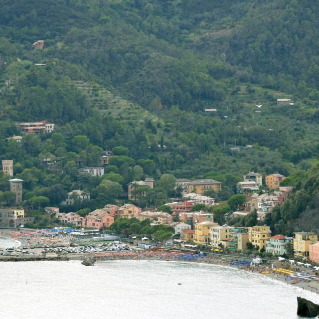 """""""Monterosso al Mare, Italian riviera"""" stock image"""
