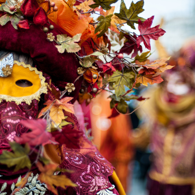 """Carnival of Venice"" stock image"