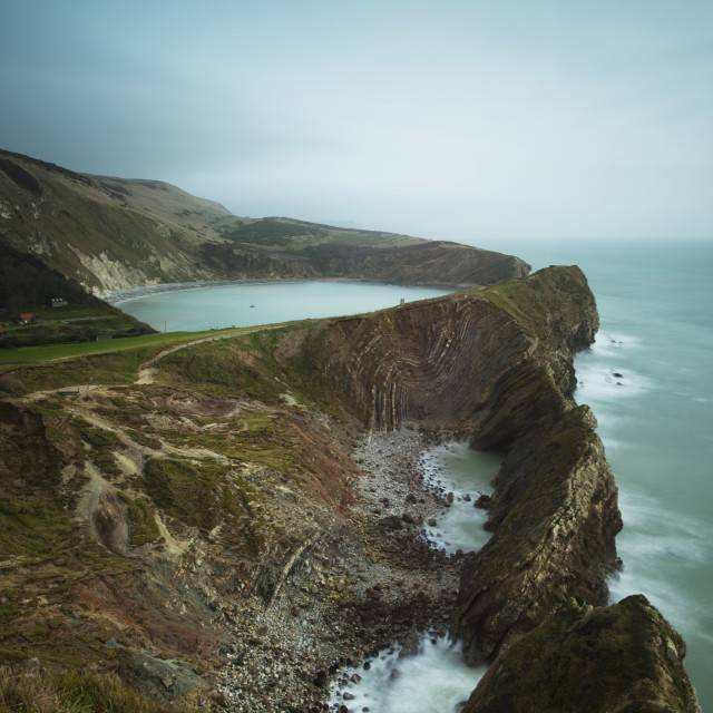 """""""Lulwoth Cove"""" stock image"""