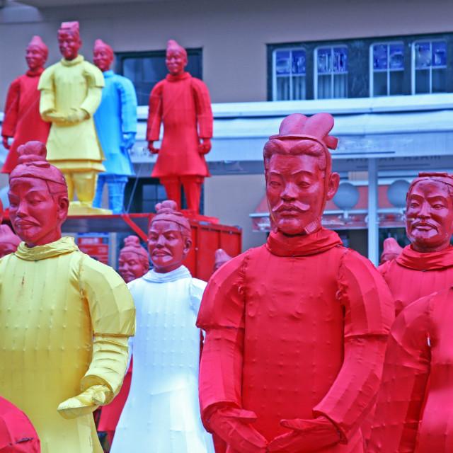 """Chinese new year 4713th, 8, Zagreb, Croatia"" stock image"