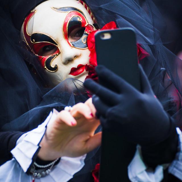 """""""Mask 7"""" stock image"""