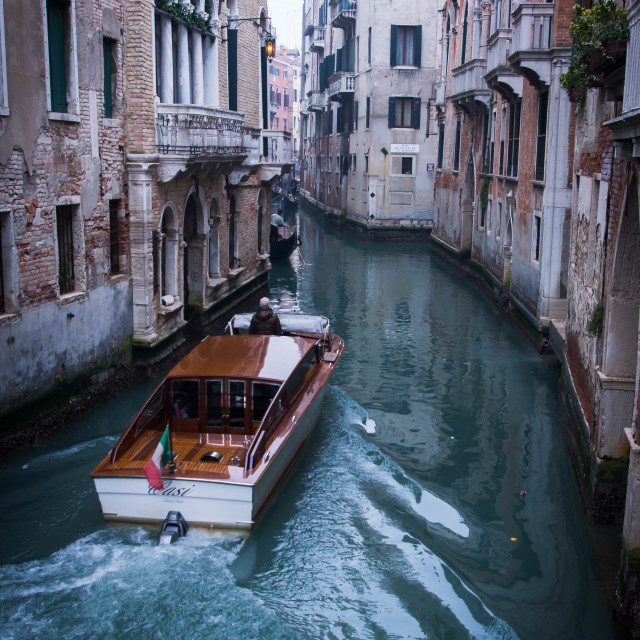 """""""Venice canal 1"""" stock image"""