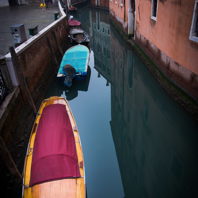 """""""Venice canal 2"""" stock image"""