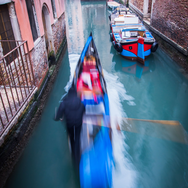"""""""Venice canal 3"""" stock image"""
