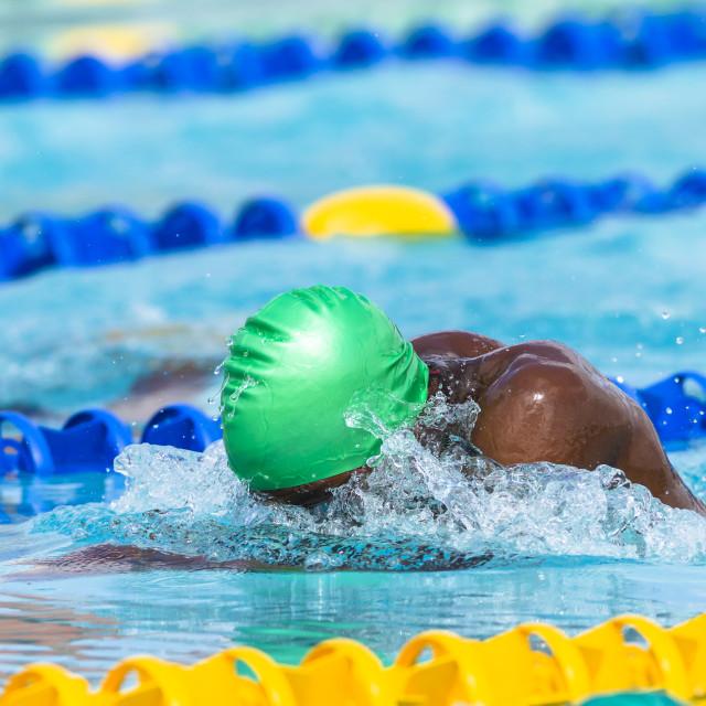 """Swimming Swimmer Gala"" stock image"