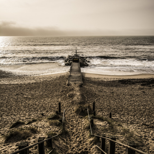 """""""Out to Sea"""" stock image"""