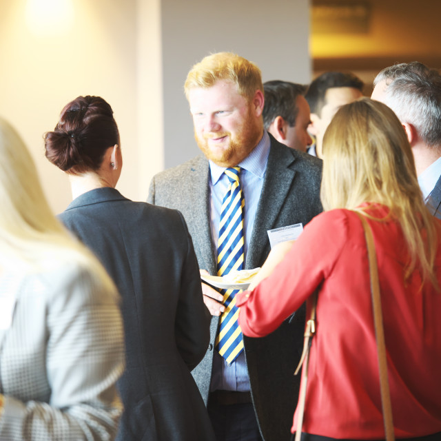 """UK Business Networking event"" stock image"