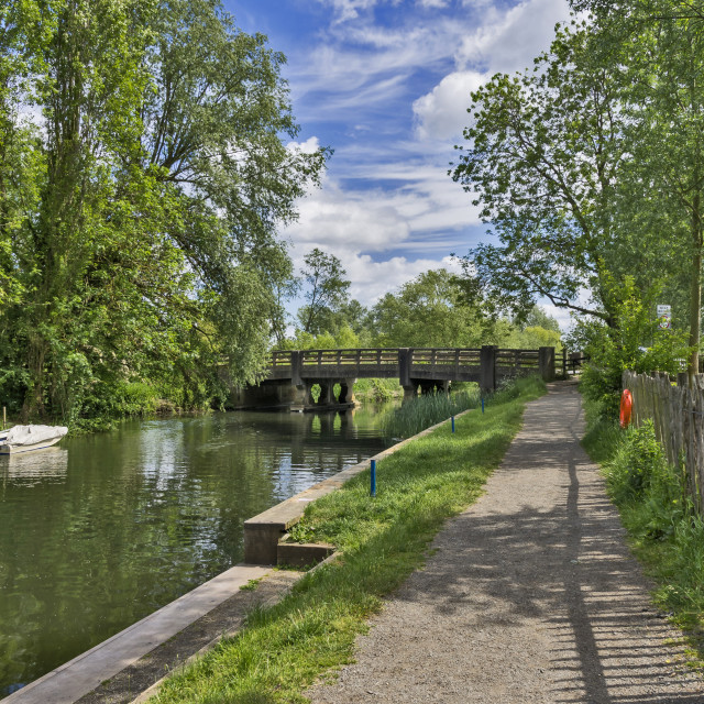 """Towpath"" stock image"