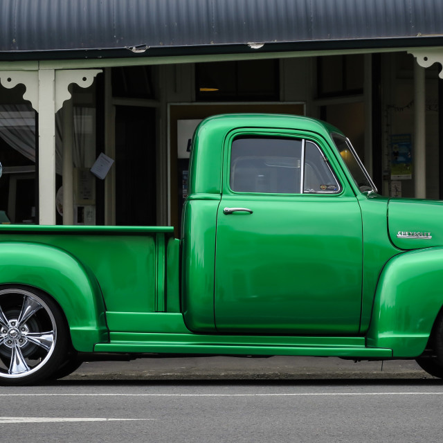 """48 Chevrolet pickup"" stock image"