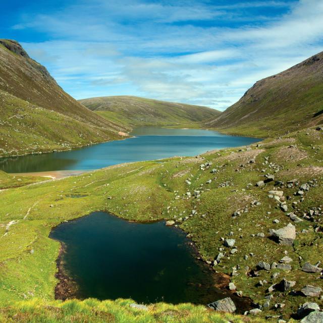 """Loch Avon"" stock image"