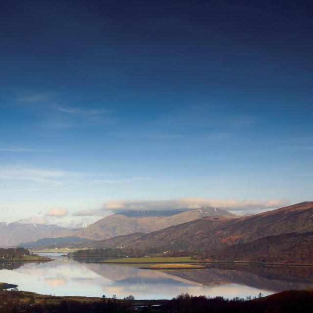 """Loch Leven"" stock image"