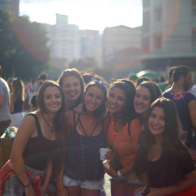 """Carnival Bloco, Pinheiros"" stock image"