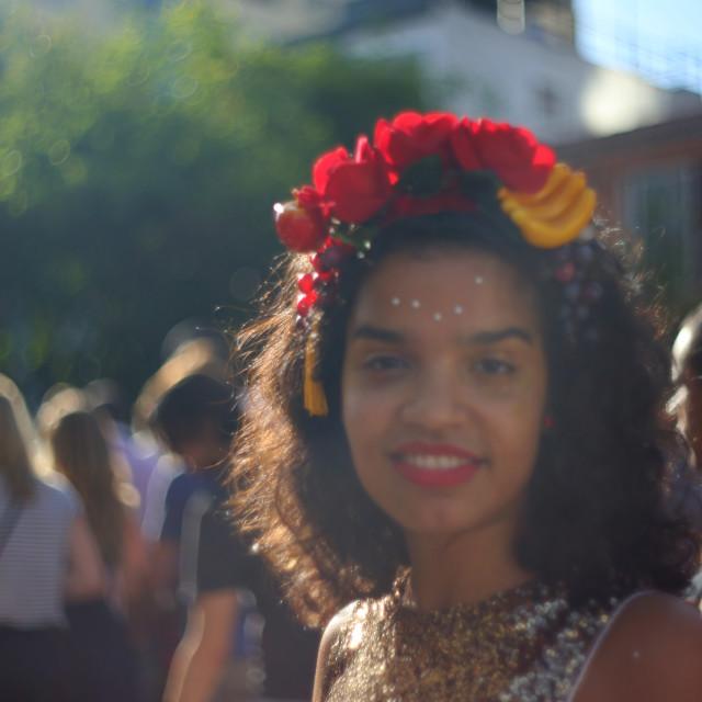 """""""Carnival Bloco, Vila Madalena"""" stock image"""