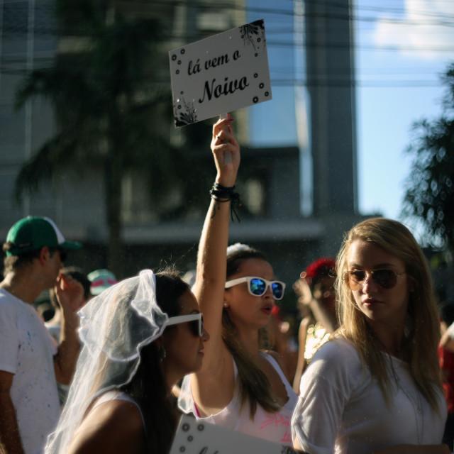 """""""Bloco Casa Comigo (Marry me) 2"""" stock image"""