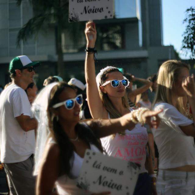 """""""Bloco Casa Comigo (Marry me) 3"""" stock image"""