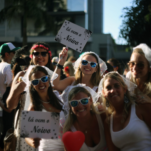 """""""Bloco Casa Comigo (Marry me) 4"""" stock image"""