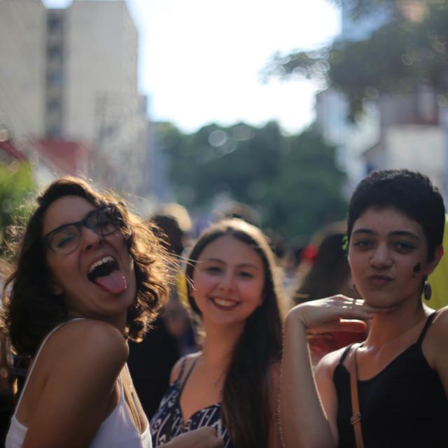 """Street Carnival Sao Paulo"" stock image"