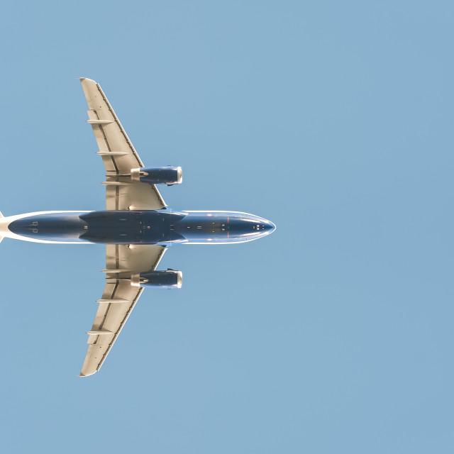 """jet silhouette"" stock image"