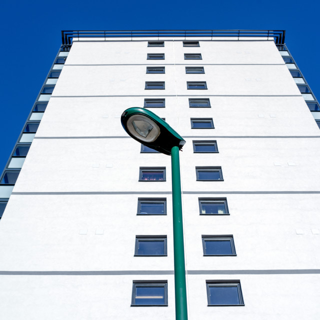 """High Rise Block Of Flats ."" stock image"