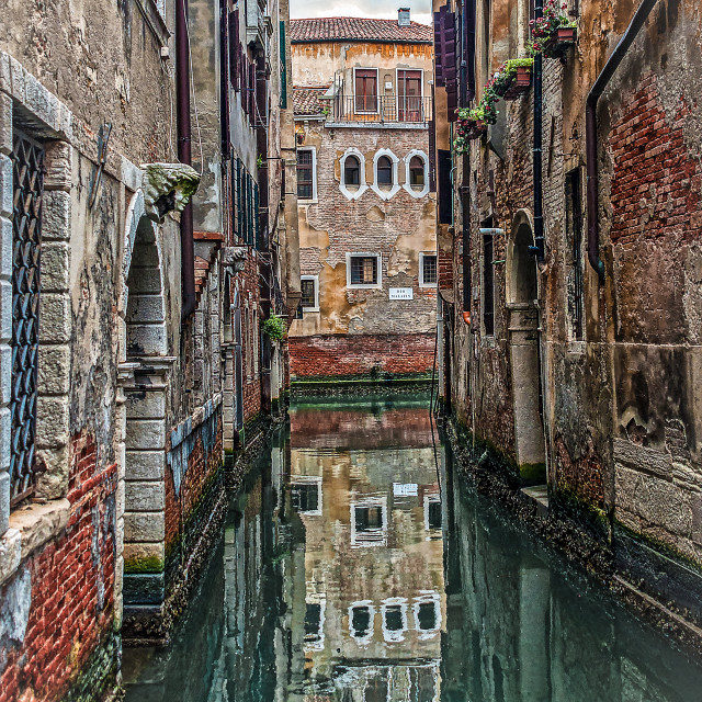 """""""hidden Venezia"""" stock image"""