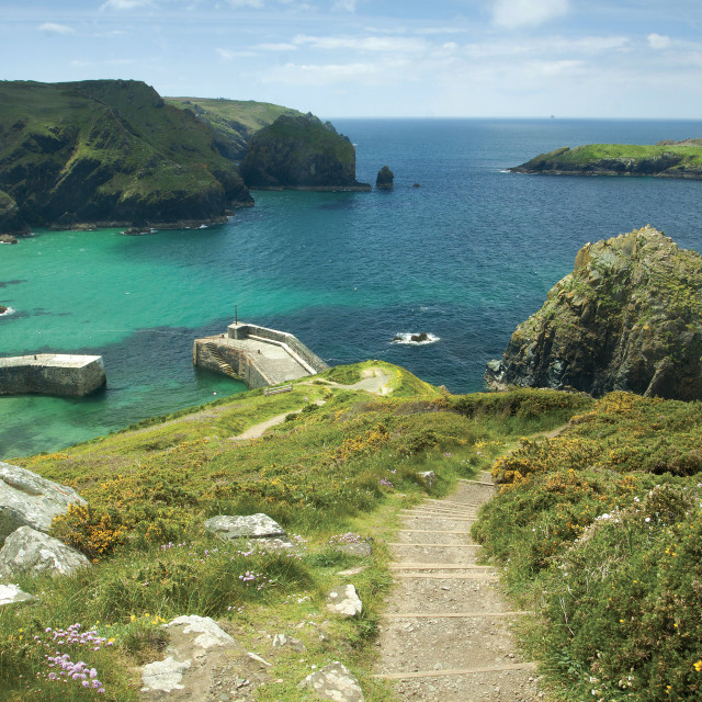 """Mullion Cove"" stock image"