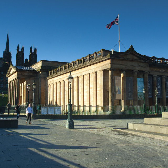"""""""National Gallery of Scotland"""" stock image"""