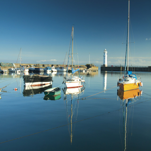 """Newhaven Harbour"" stock image"