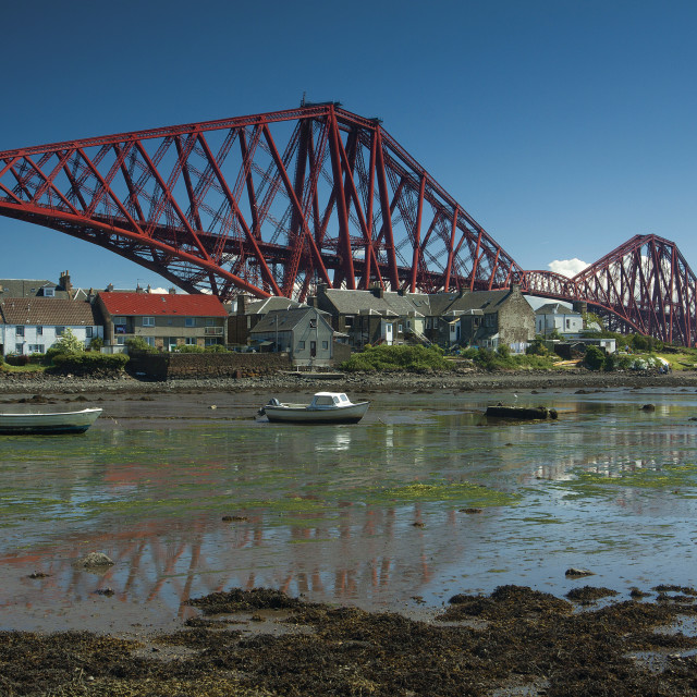 """North Queensferry"" stock image"