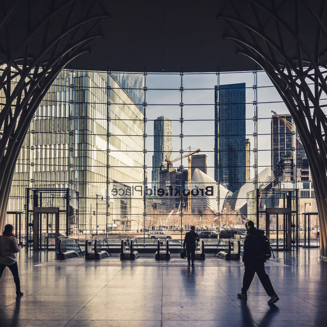 """Brookfield Place"" stock image"