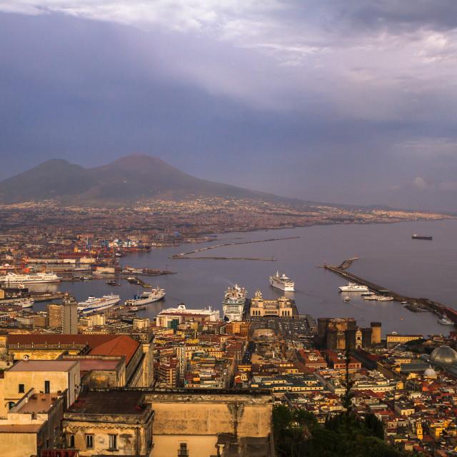 """Napoli"" stock image"