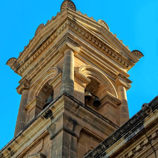 """Malta - Santa Marija Assunta"" stock image"
