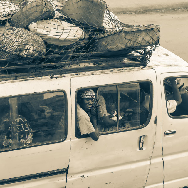 """Serrekunda Street Life"" stock image"