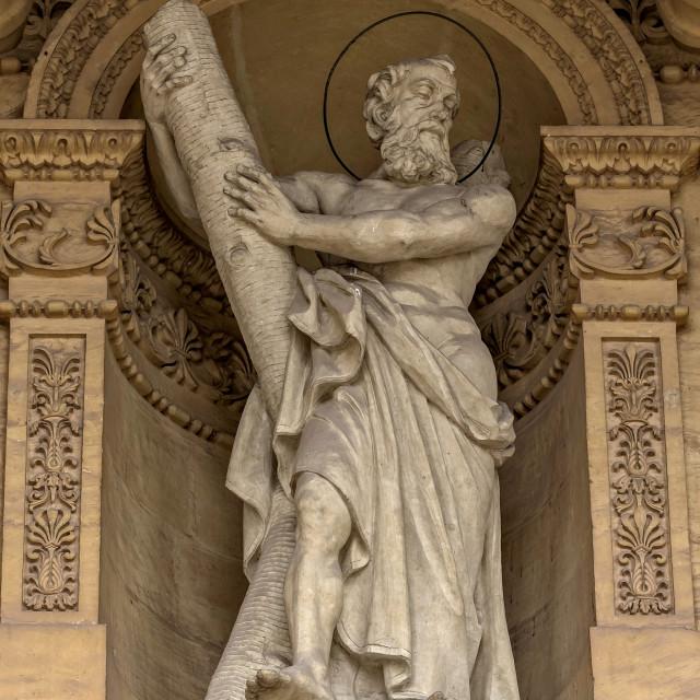 """""""Malta - Saint Andrew"""" stock image"""