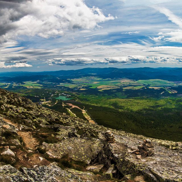 """Solisko panorama"" stock image"