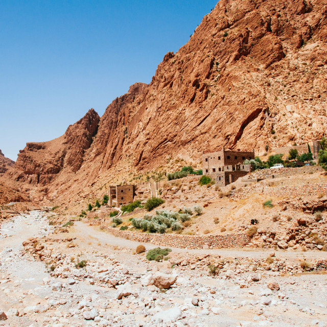 """Todra Gorge, Morocco"" stock image"