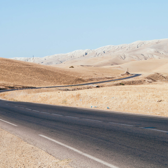 """Moroccan Roads"" stock image"