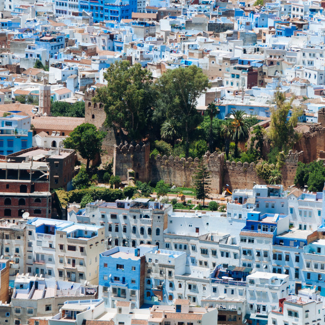 """Chefchaouen Kashbah"" stock image"